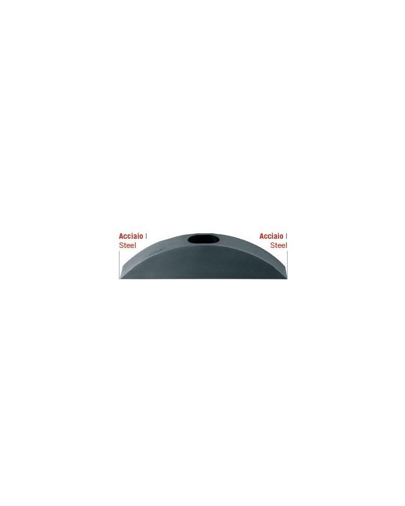 Martellina con due 2 punte taglienti in acciaio temperato