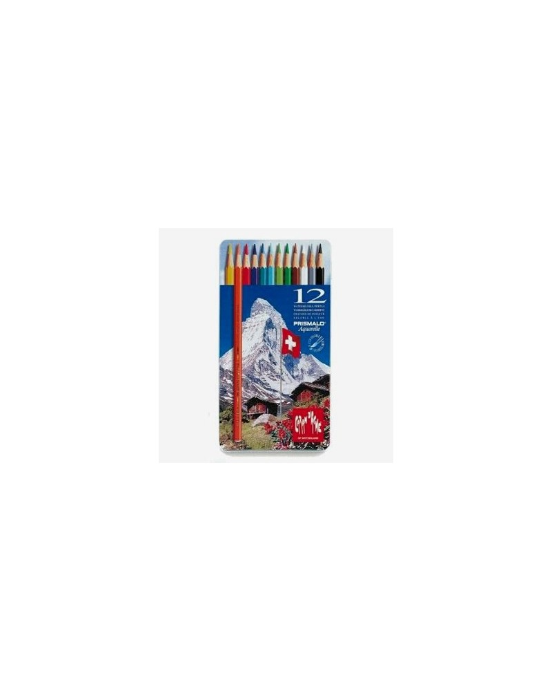 Pastelli a matita acquarellabili - CARAN D'ACHE PRISMALO da 12