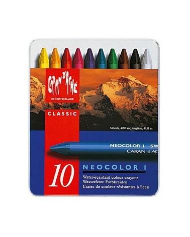 NEOCOLOR I - pastelli a cera classici in conf. da 10