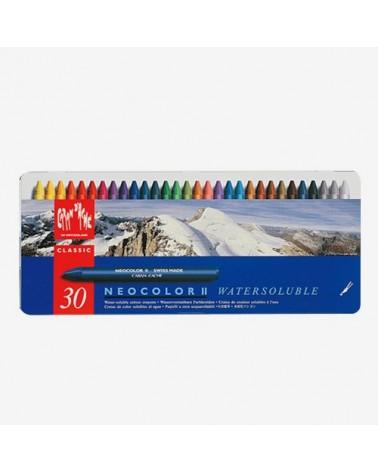 NEOCOLOR II - pastelli a cera acquarellabili in conf. da 30