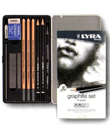 Set disegno grafite - LYRA GRAPHITE SET