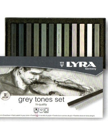 Set 12 crete grigie - LYRA