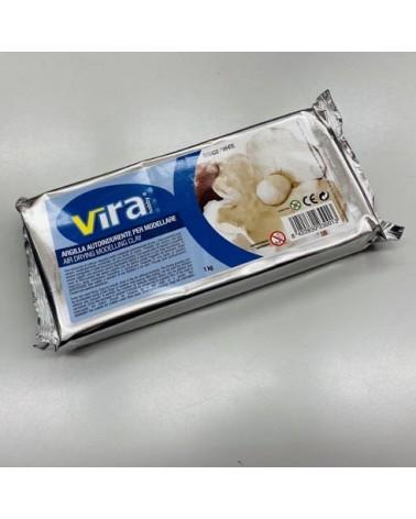 VIRA - argilla bianca autoindurente 1Kg