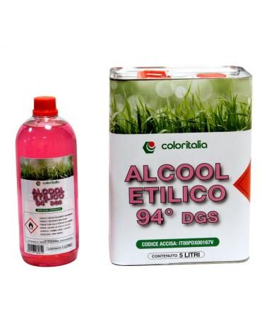 ALCOOL ETILICO 94 gradi - 1 lt
