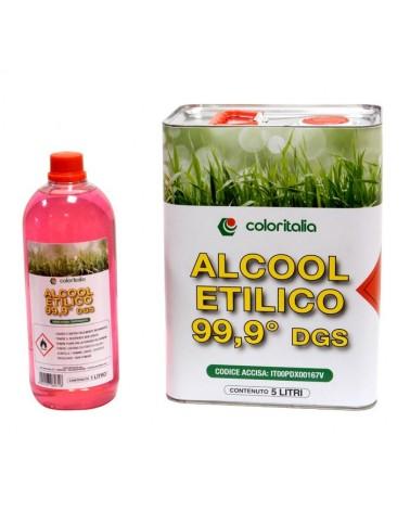 ALCOOL ETILICO 99.9 gradi - 1 lt