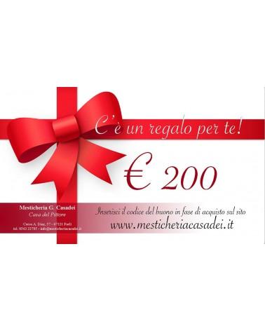 BUONO REGALO € 200