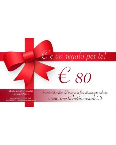 BUONO REGALO € 80