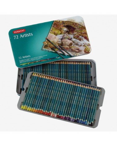 Confezione pastelli a matita - DERWENT ARTISTS da 72