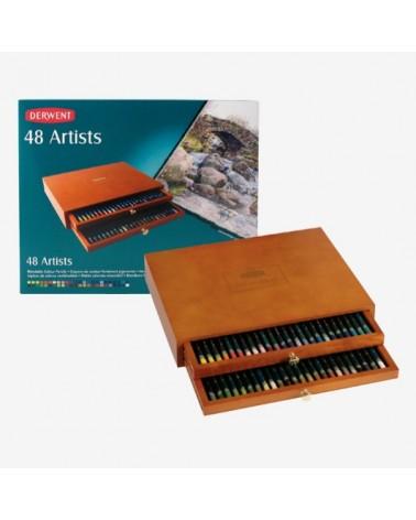 Confezione pastelli a matita - DERWENT ARTISTS da 48